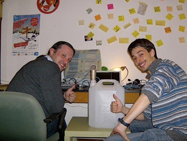 Marco Zambianchi e Michael Sacchi, gli ideatori di AstronautiCAST