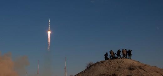 Il lancio della Soyuz TMA-04M. Credit: NASA/Bill Ingalls