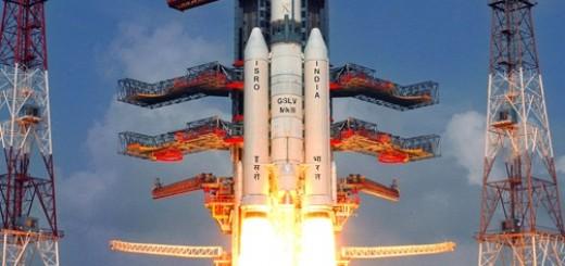 Il lancio inaugurale del GSLV Mk III – Credit: ISRO