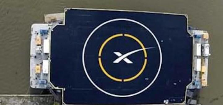 Piattaforma di atterraggio galleggiante di SpaceX