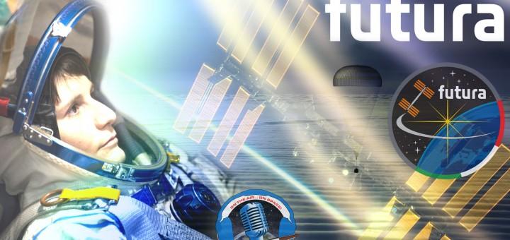 Copertina della diretta del ritorno sulla Terra di Futura. Credit: Riccardo Rossi